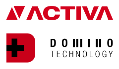 Logo ACTIVA DOMINO Technology