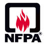 Logo NFPA, Association Nationale pour la Protection contre le Feu, aux USA Massachussetts